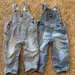 💥Set of 18 Month Overalls💥